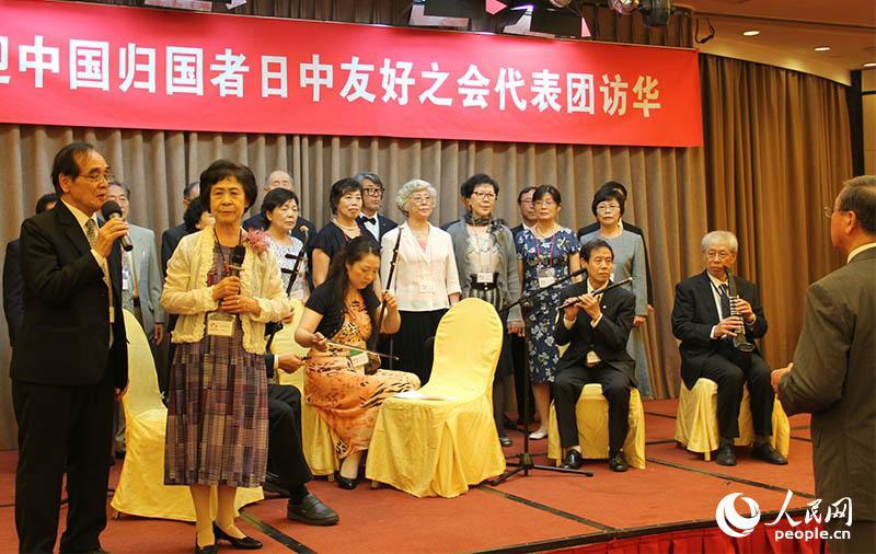 日本残留孤児代表団が中国を訪問 現地の友好協会から熱烈な歓迎