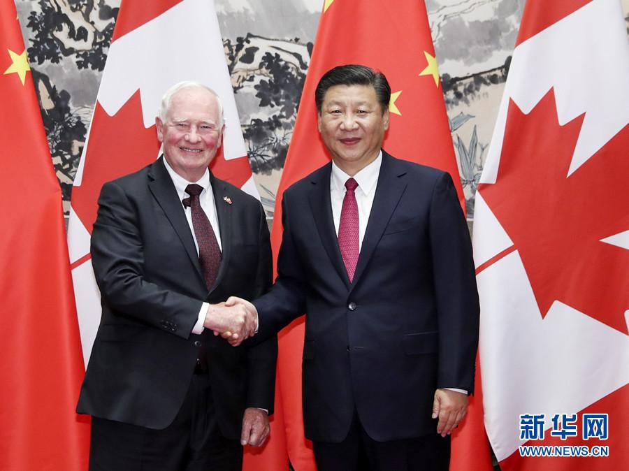 習近平国家主席「中国カナダ関係の前向きな発展を推進」