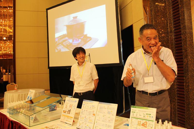 日本らしい視点でPR 「日本食材展示会」が北京で開催