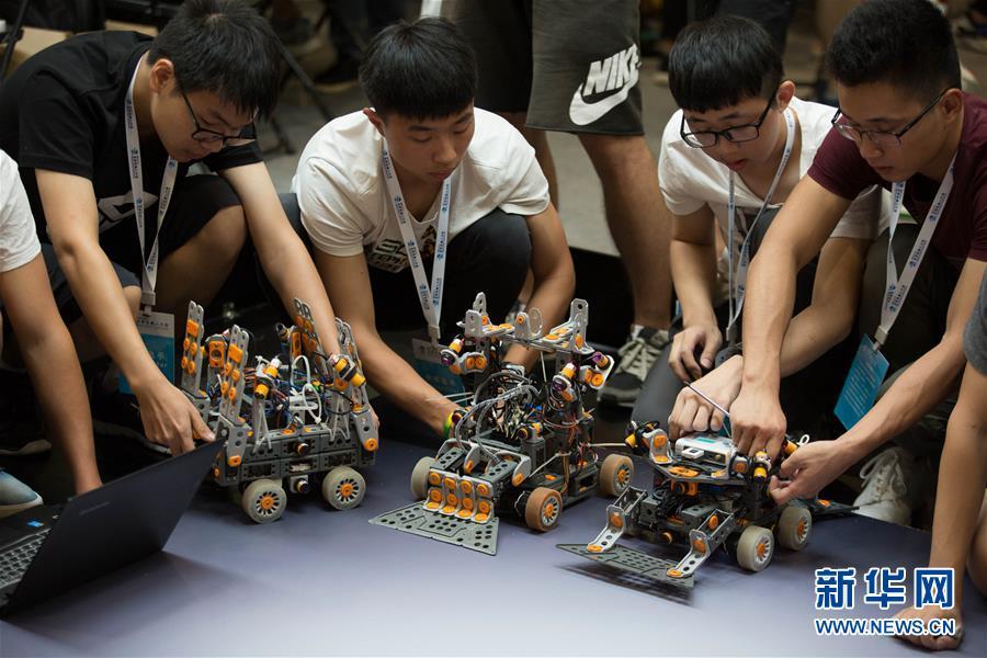世界ロボット大会が開幕