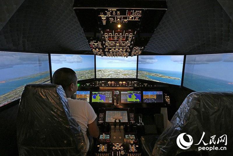 2017上海国際科普産品博覧会でC919のフライトシュミレーター初登場