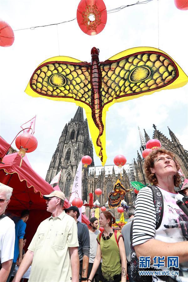 中国文化をドイツで発信 第3回ケルン・チャイナフェスティバル開催