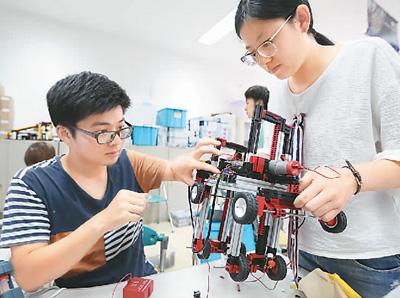 第5回中日韓夏季創新工程設計プロジェクト開催 江蘇省