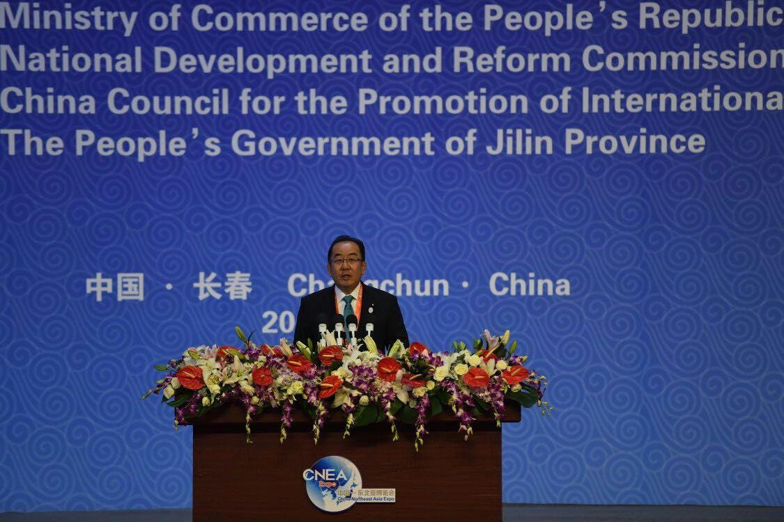日本経済貿易高官、長春で日中協力を語る