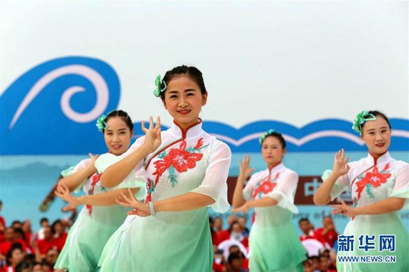 2017洪沢湖上海蟹祭り開幕
