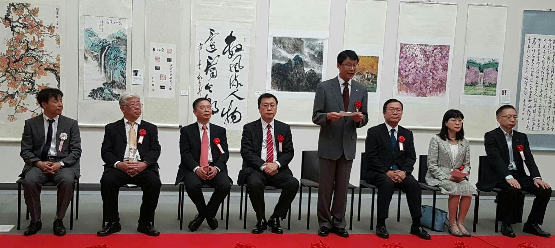 第22回日中書画篆刻交流展名古屋で開催