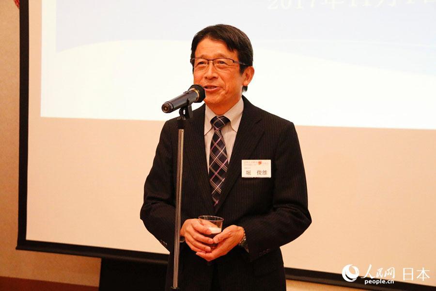 中国人高校生を迎えたホストファミリー訪中団の壮行会が東京で開催