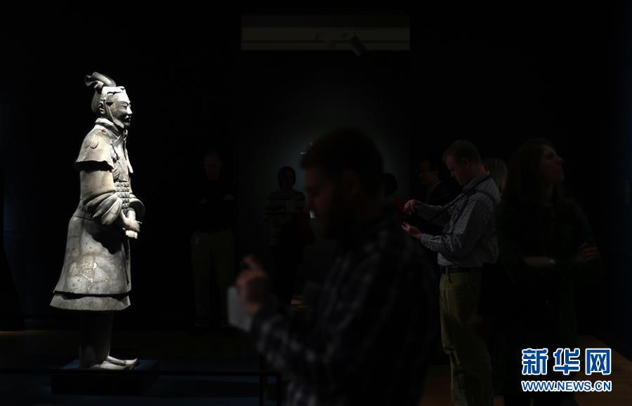 米国の芸術博物館で兵馬俑特別展開催