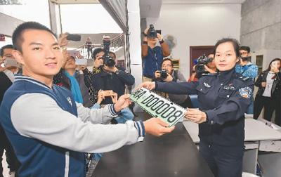 中国12都市、新エネ車専用ナンバープレートを使用開始