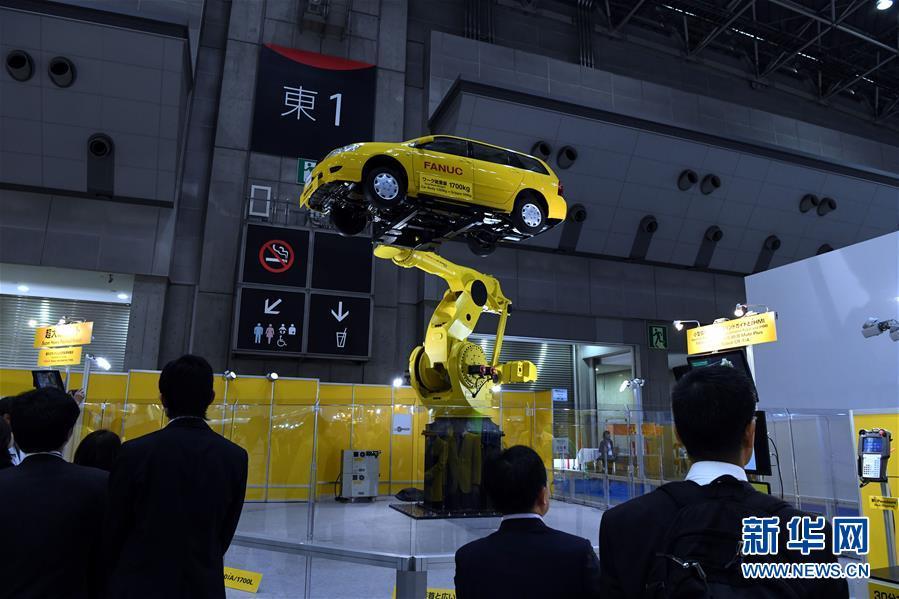 2017 国際ロボット展が東京都で開幕 日本