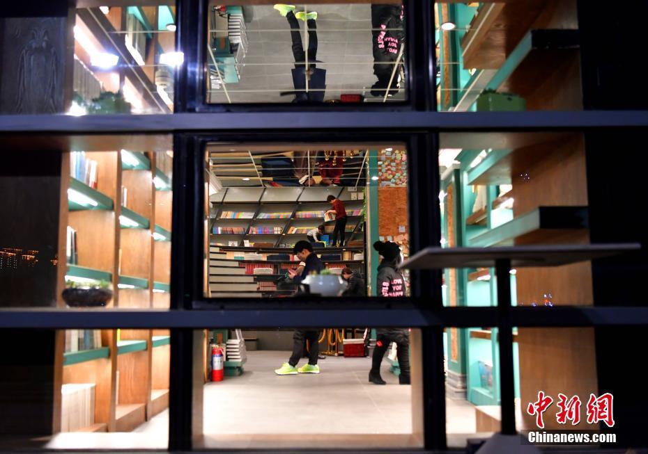 河北省に24時間営業の書店オープン 市民に安らぎ提供