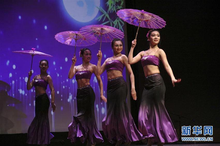 上海市の大学生たち、ニューヨークで中国伝統文化の魅力を発信