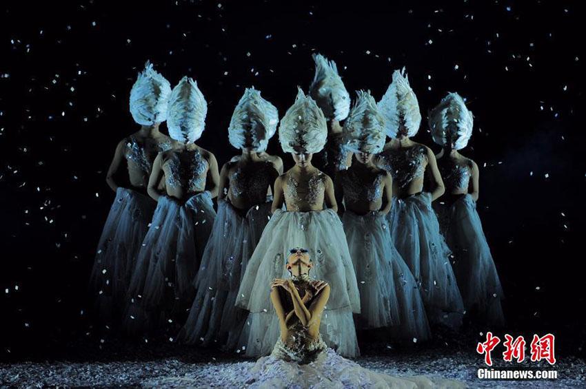 楊麗萍主演の舞台劇「孔雀の冬」が天津大劇院にて公演