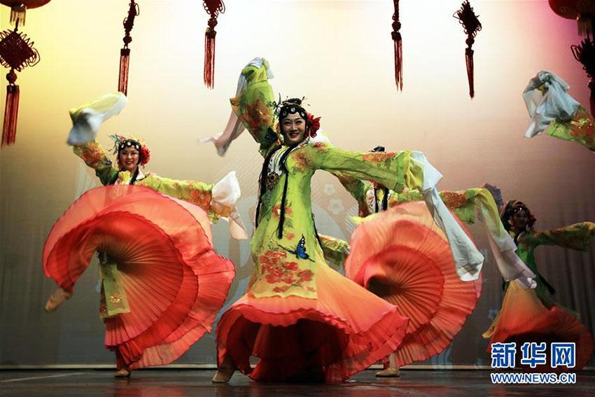 ヨルダンで春節の到来を祝うパフォーマンスイベント開催