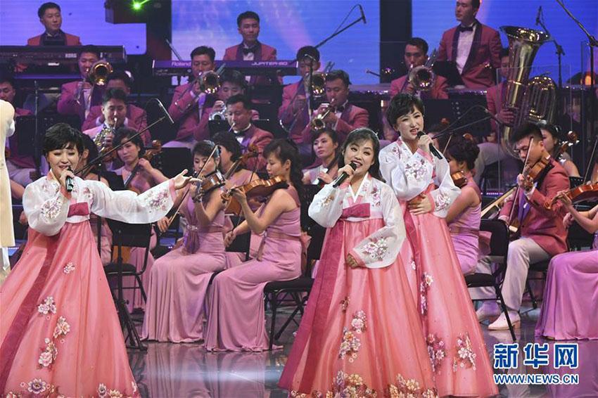 朝鮮芸術団、韓国の江陵アートセンターで初公演
