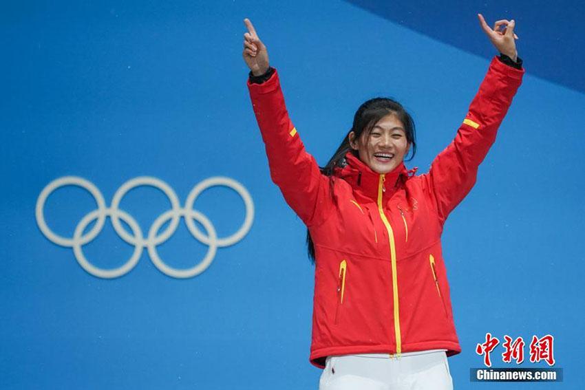 平昌五輪、スノボ女子ハーフパイプで中国が今大会初のメダル獲得