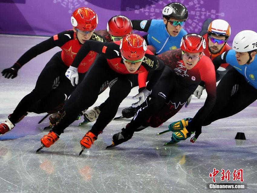 平昌五輪ショートトラック男子5000メートルリレー、中国が決勝進出