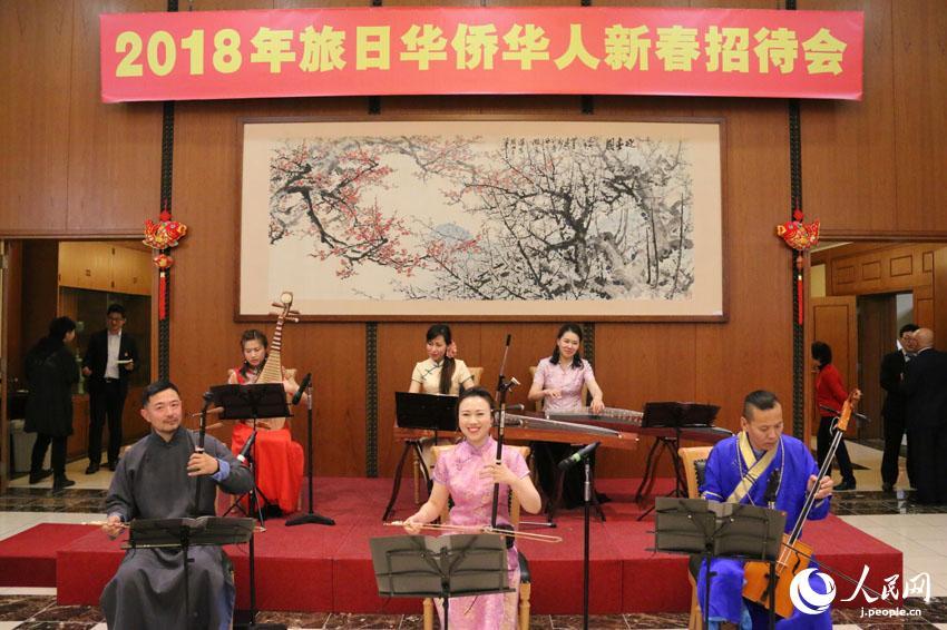 中国大使館が「在日華僑華人新春レセプション」を開催