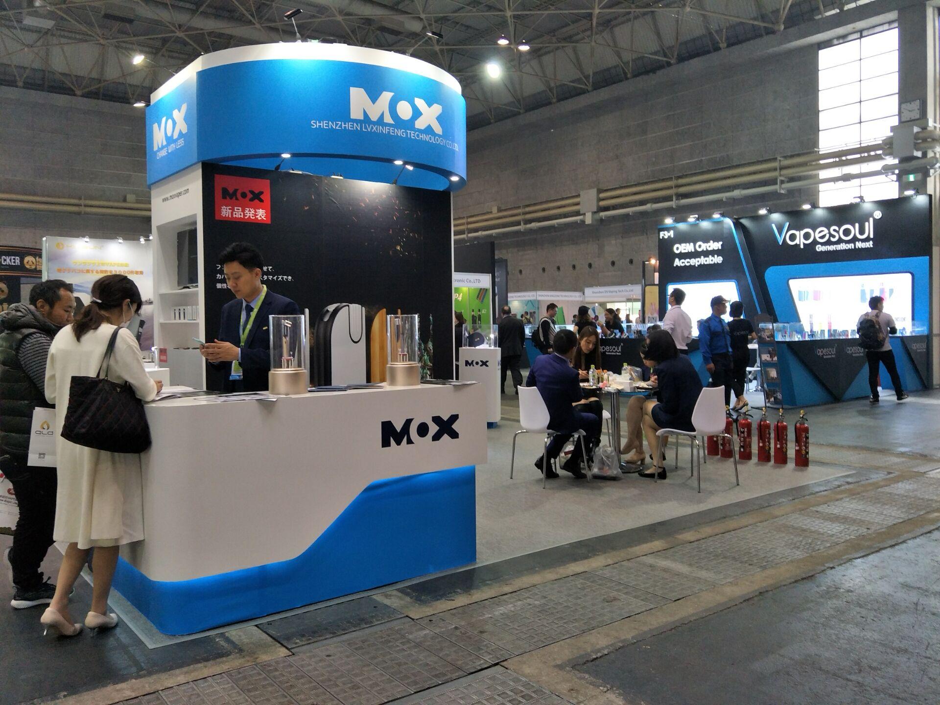 日本初の大規模VAPE展覧会インテックス大阪で開催