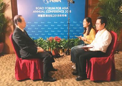福田康夫元首相「中国が開放すればするほど、世界に利益をもたらす」