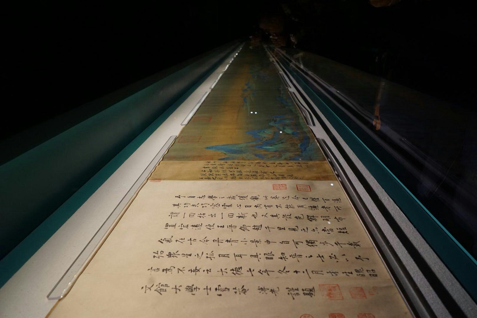 驚きなのは当世の王希孟と宋徽宗趙佶、本当に不思議な帝王と臣下である……