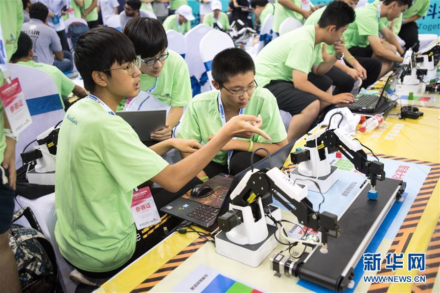 2018年世界ロボットコンテスト 武漢で決勝戦