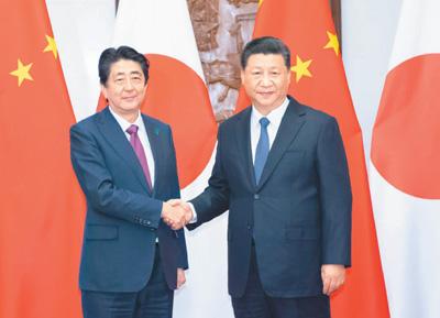 外交部報道官「中日の互いの努力で、安倍首相の訪中は成功を収めた」
