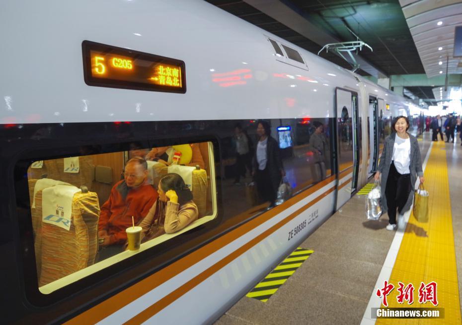 中国の鉄道ダイヤ改正、青島も北京から3時間圏内に 人民網日本語版 2019年04月11日11:32
