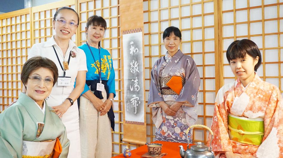 2019船場まつり・『船場書画展 日中友好大阪画院展』3日目
