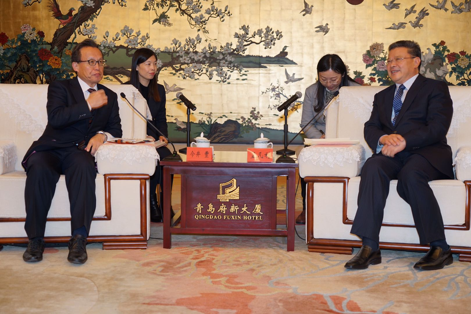 大阪府議会日中議員親善連盟会長、日本維新の会副代表今井豊が団長とするミッションを結成し、山東省青島市を訪問した。