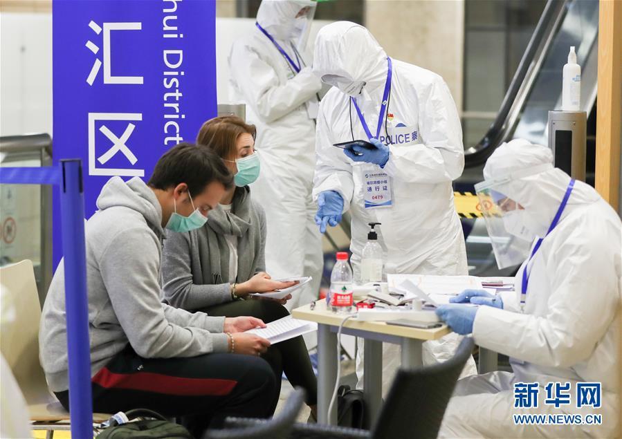 上海浦東国際空港の感染対策現場に迫る