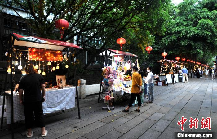 2020年福建「朱紫坊」文化クリエイティブマーケットがオープン