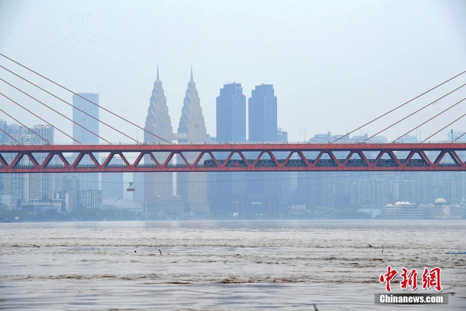 「長江2020年第5号洪水」の増水ピークが重慶市街地に到達
