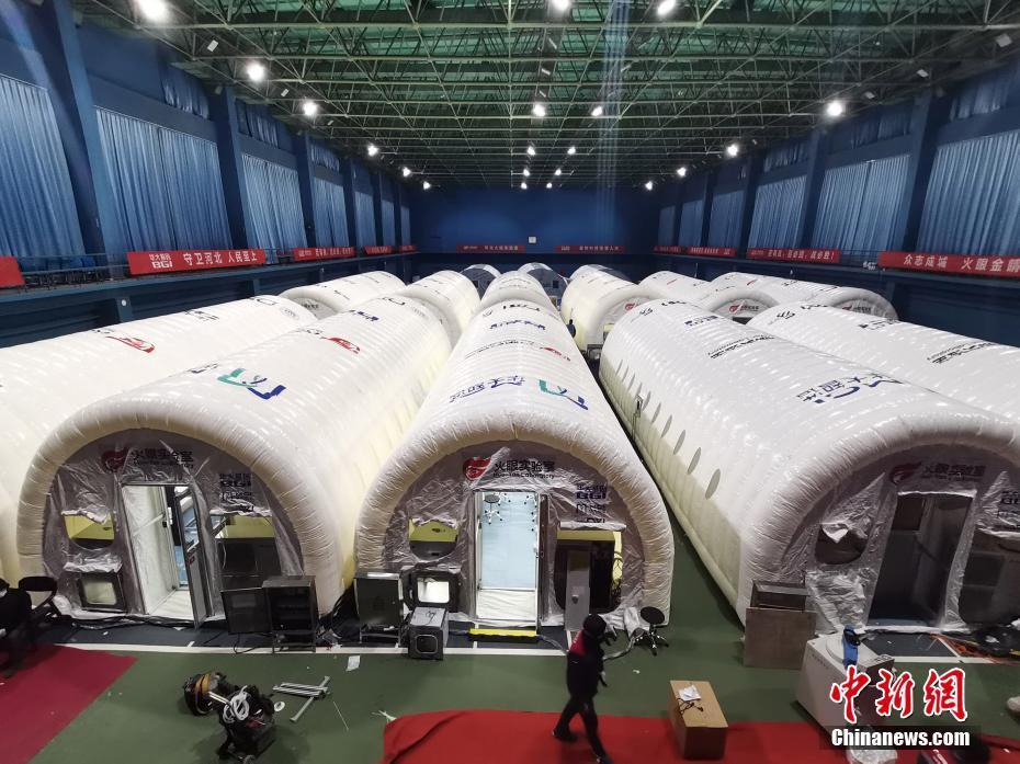 河北省石家荘「火眼実験室」 一日100万人分のPCR検査可能