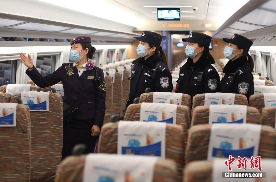春運中南京の鉄道車両に女性鉄道警察官登場へ 江蘇省