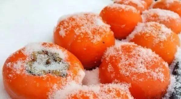 冬に楽しむ「凍柿子」