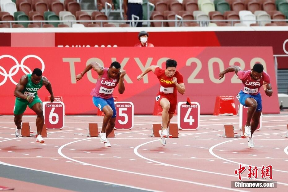 蘇炳添選手、五輪100メートルで中国初のファイナリスト